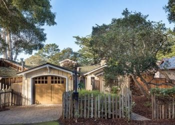 Classic Board and Batten Cottage in Carmel-by-the-Sea for sale. A cozy charmer with character.