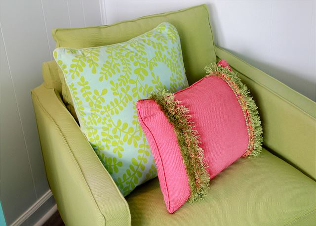 Coastal Joy Cottage Mermaid Cottages - Bedroom Decor pillows