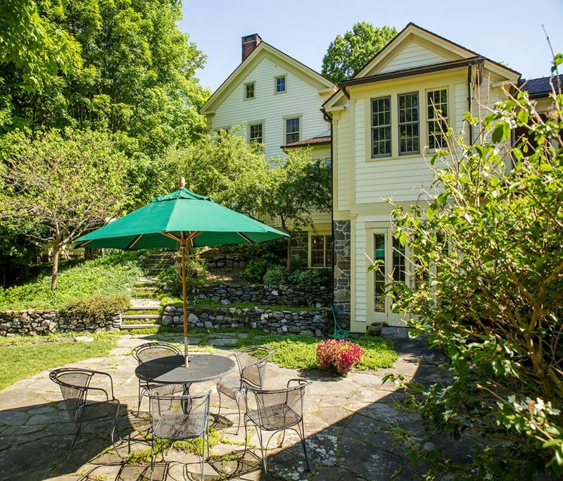Colonial Farmhouse called Daley Farm on 160 acres in NY for sale
