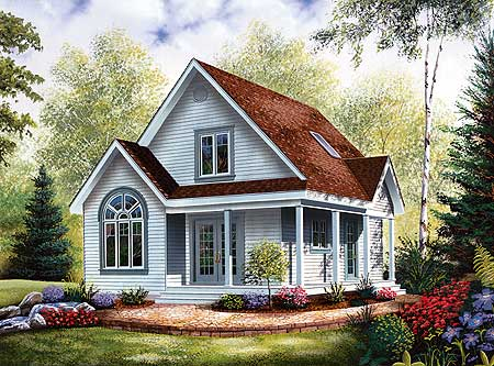 11 cottage house plans to love housekaboodle for Homes with verandahs all around