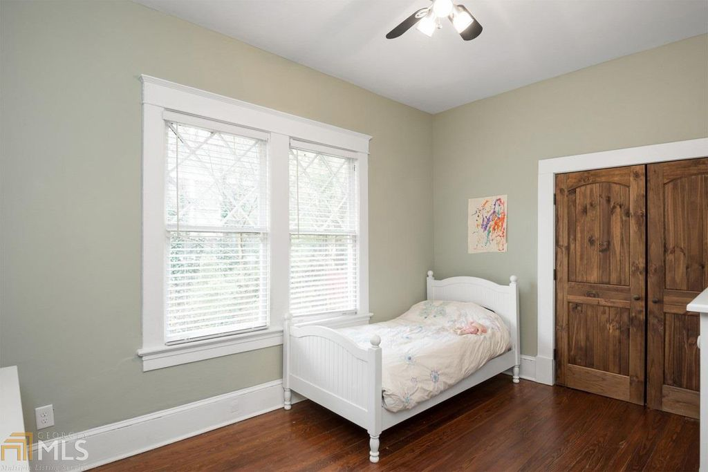 Craftsman Bungalow for sale in Atlanta GA is updated- Bedroom