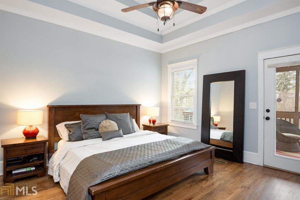 Craftsman Bungalow in Atlanta GA for sale - Bedroom