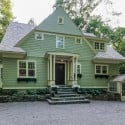 Architect's Craftsman Colonial For Sale in Connecticut
