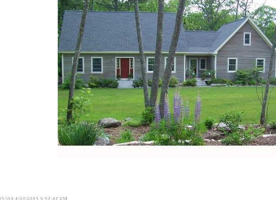 Custom Built Cape at Heritage Oaks Blue Hill, Maine - is move in ready