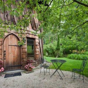 Cute little houses to rent. This is Silo Studio Cottage in Tyringham MA on Airbnb