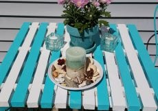 How to make a plank Ice Cream Parlor table yourself