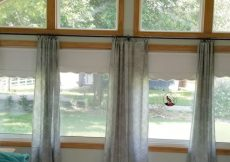 DIY Industrial Curtain Rods for your home.