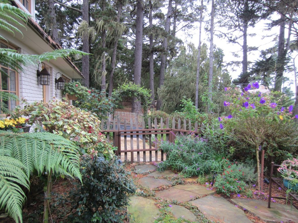 Delightful landscaping and cozy cottage for sale in Carmel CA
