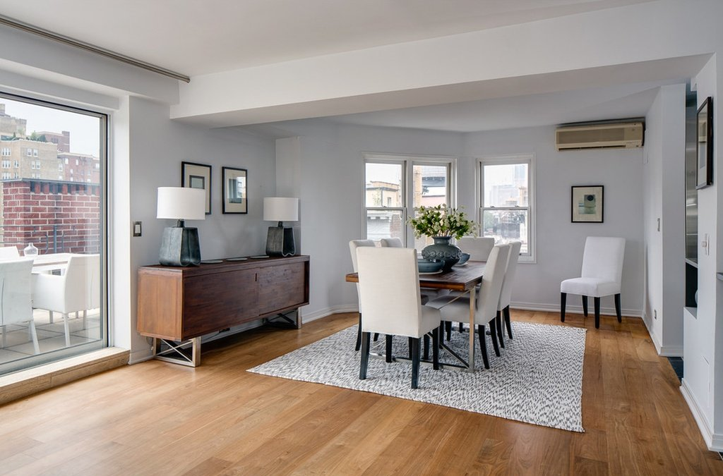 Dining Room - Julia Roberts home in Greenwich Village
