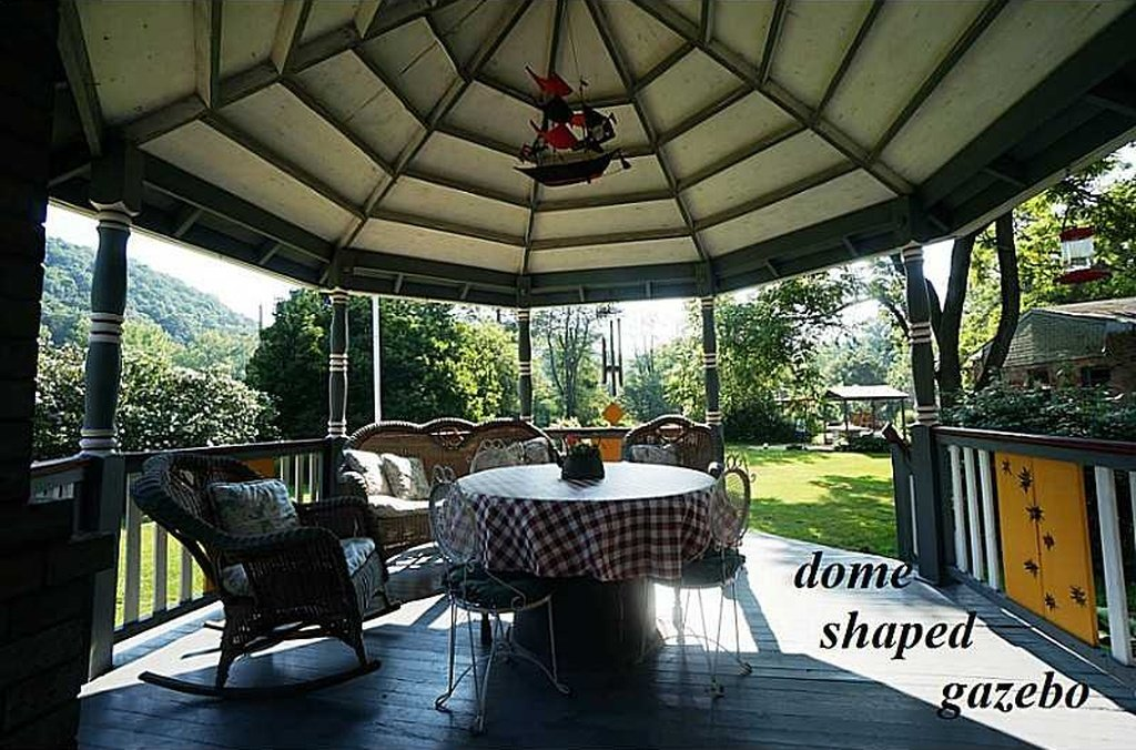 Dome Shaped Gazebo