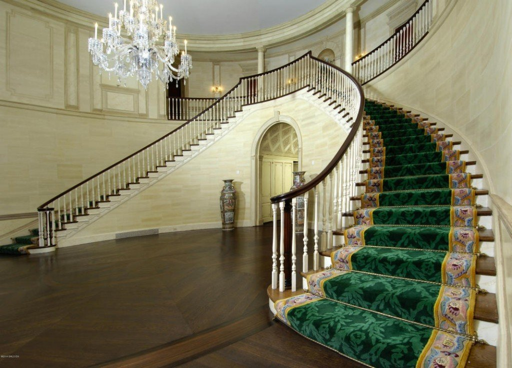 Donald Trumps house staircase