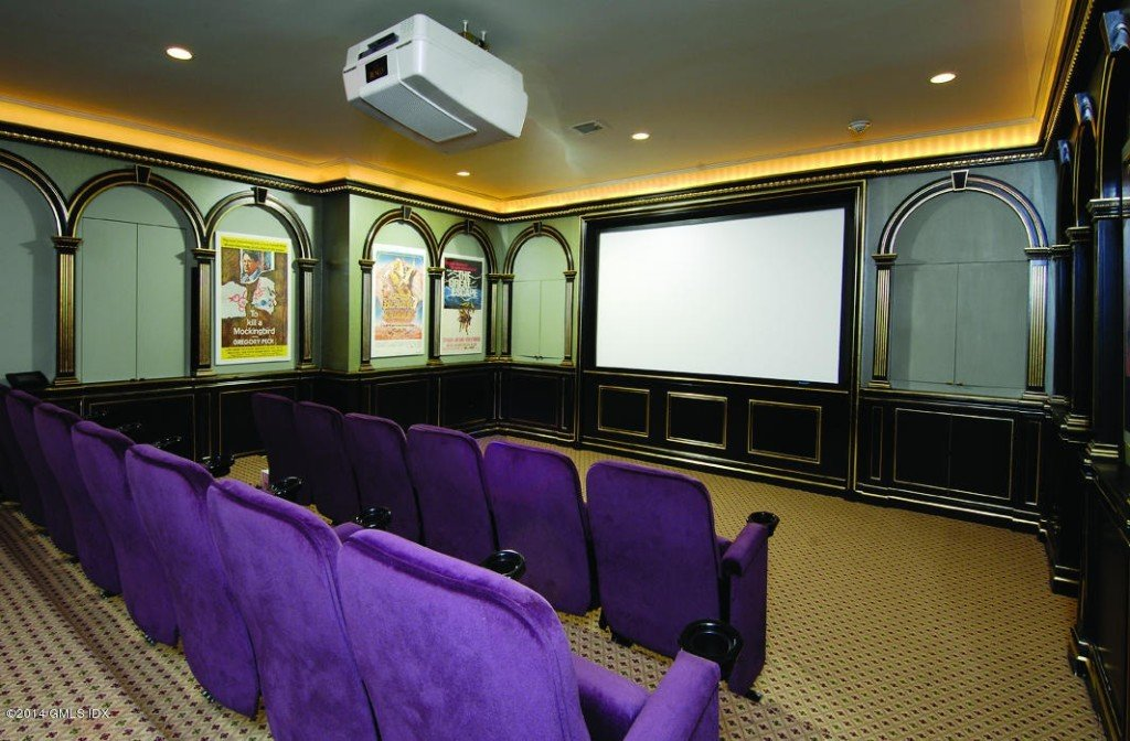 Donald-Trump house fun home theatre