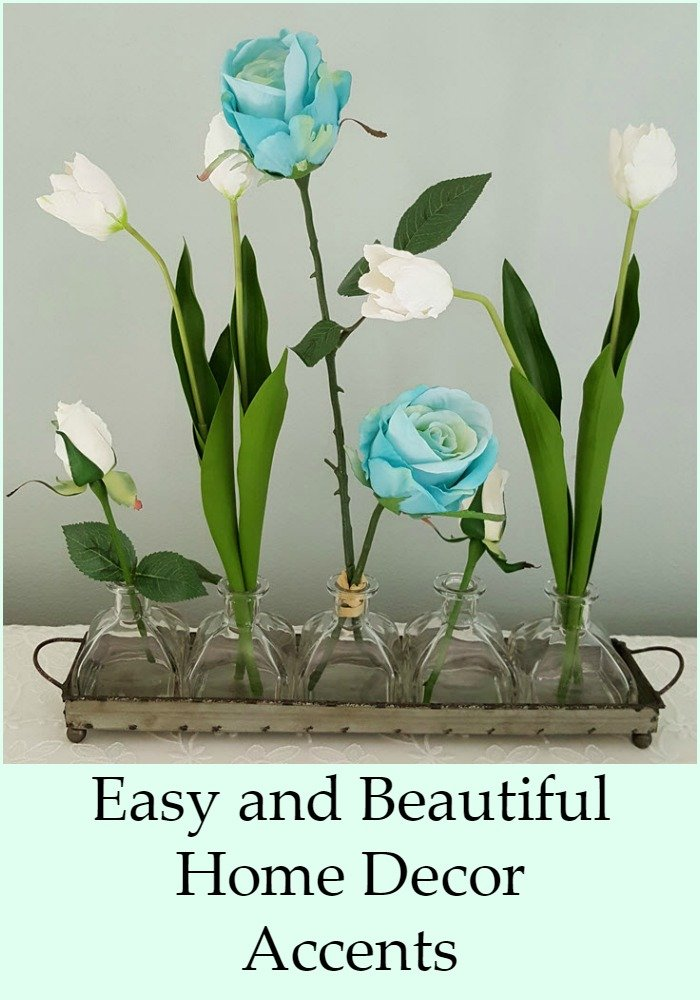 EASY AND BEAUTIFUL HOME DECOR ACCENTS WITH AFLORAL DESIGNS