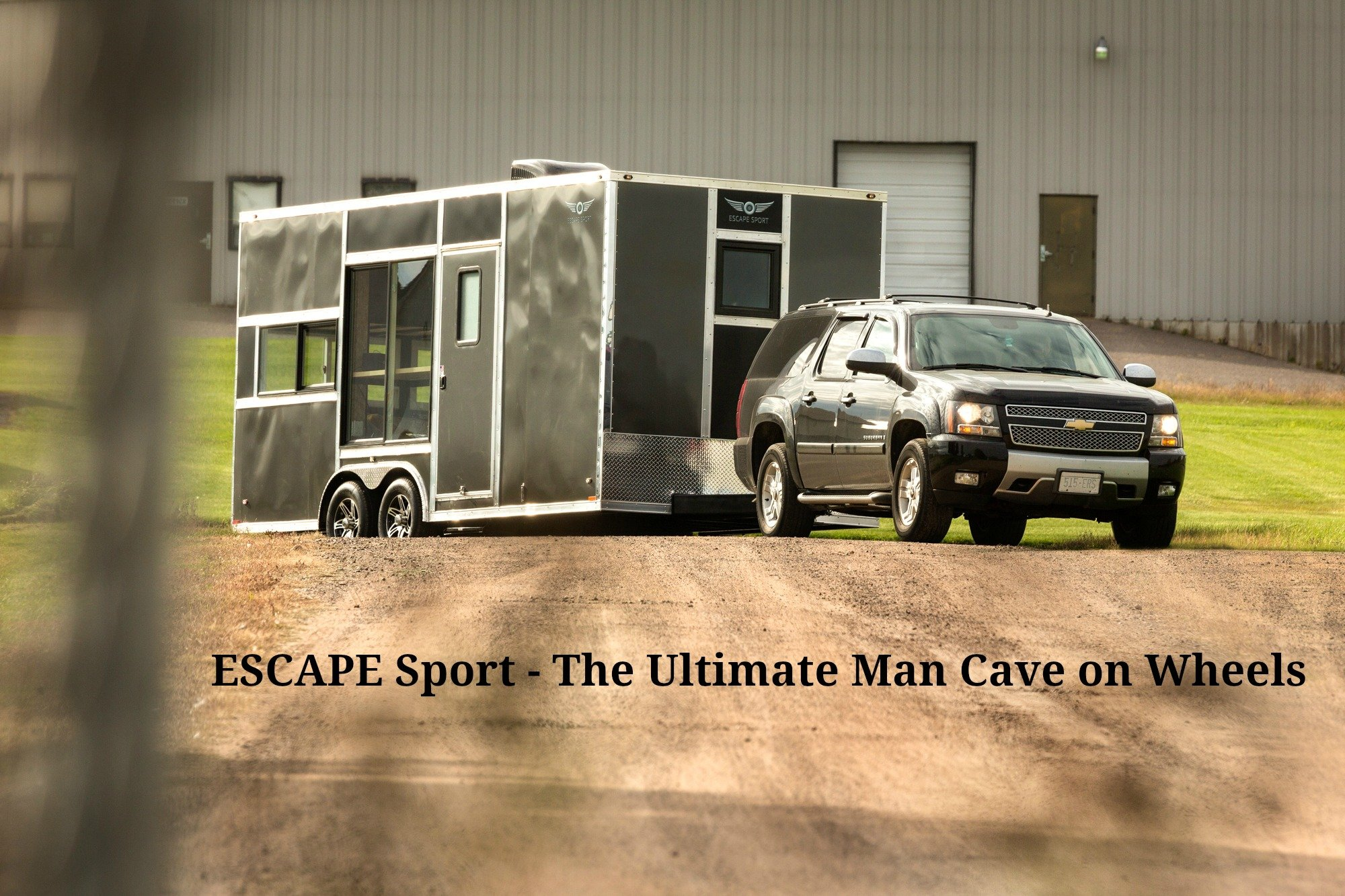 Man Cave On Wheels : Escape sport the ultimate man cave on wheels