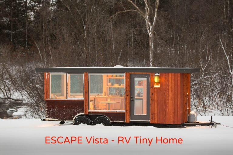 ESCAPE Vista is the new RV Tiny Home Getaway