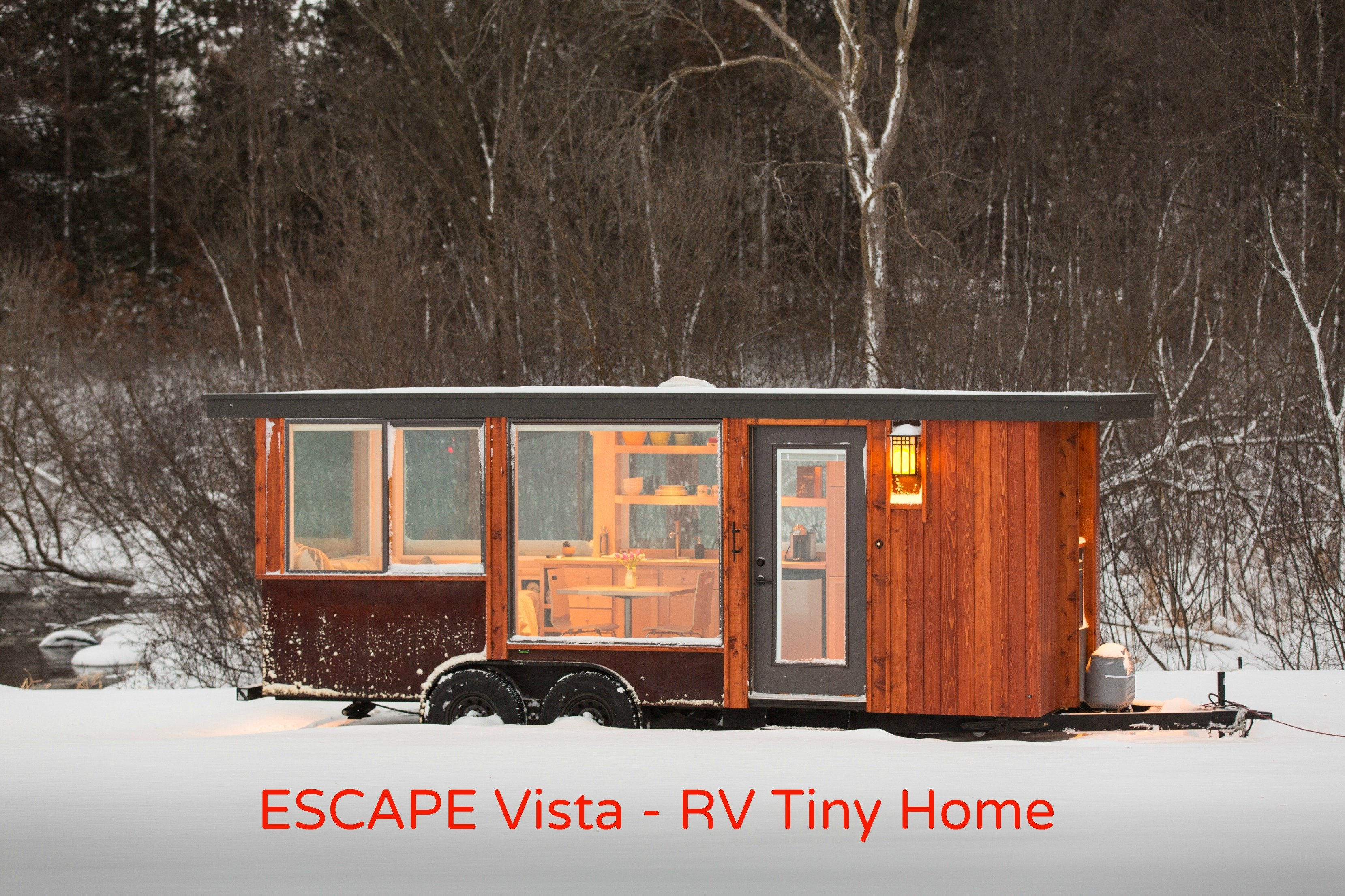 Come see ESCAPE Vista the new RV Tiny Home