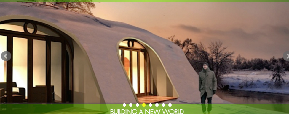 Earth home design by Green Magic Homes