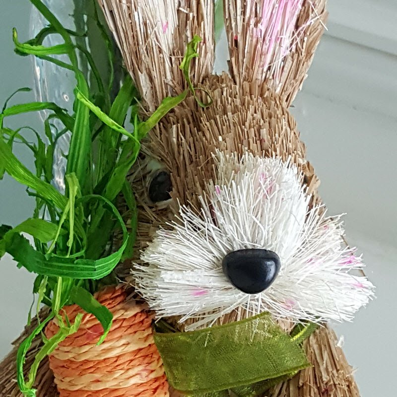 Adorable Easter Bunny for door wreath - Housekaboodle