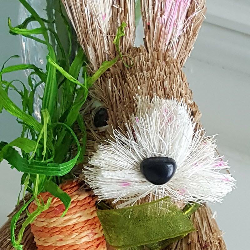 Adorable Easter Bunny for door wreath - Housekaboodle