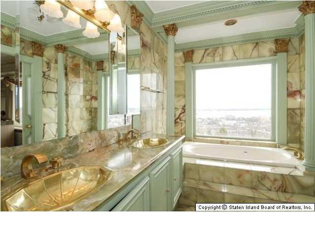 Elegant Victorian home Master bath - 269 Howard Ave Staten Island NY for sale