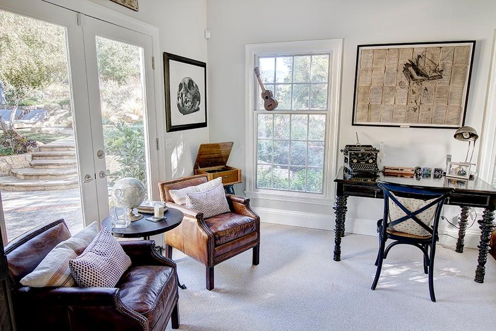 Emily Blunt & John Krasinski Colonial Style Home in Ojai ...