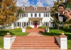 Emily Blunt and John Krasinski Colonial Home