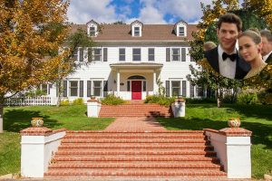 Emily Blunt and John Krasinski Colonial Home