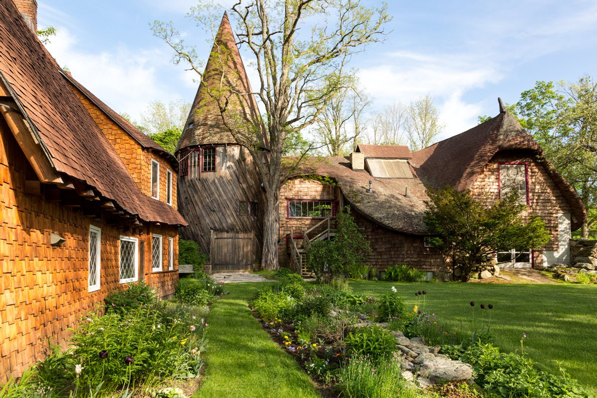 Gingerbread House Estate In MA Is Fairy Tale Living