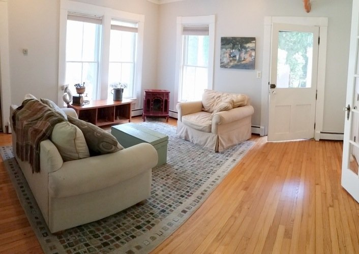 Family Room Catalpa House for sale 5032 Delaware Turnpike, Rensselaerville, NY