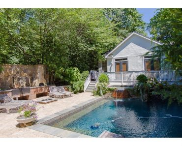 Backyard Oasis Atlanta GA home For Sale 276 9th St Atlanta Georgia 10