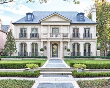 French Manor Mansion traditional-exterior