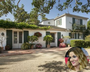 Front of Drew Barrymore Montecito house !