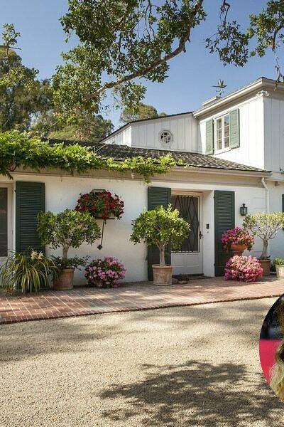 rew Barrymore Montecito house !