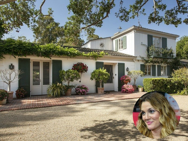 Drew Barrymore Montecito House Is $7,500,000