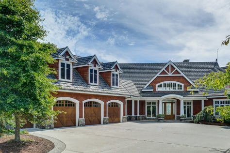 Gibralter Equestrian Estate For Sale in Anacortes, Washington has 5 bedrooms, 7 baths, 4 fireplaces, and barn with 9 stalls.