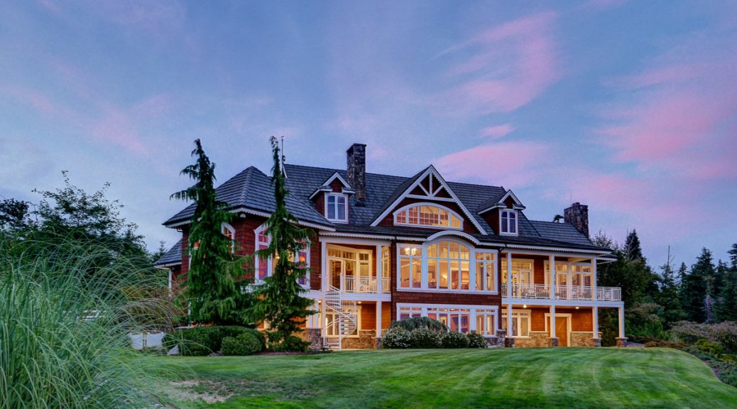 Luxurious Equestrian Estate For Sale Anacortes, Wa