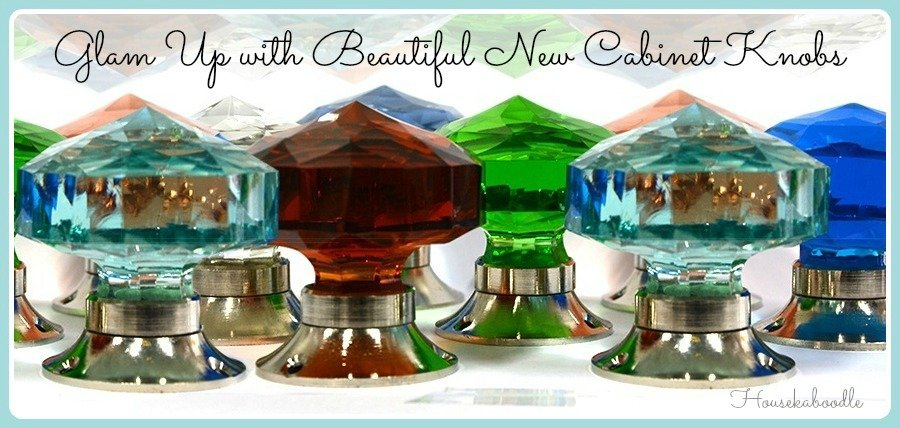Glam Up With Beautiful New Cabinet Knobs - Housekaboodle