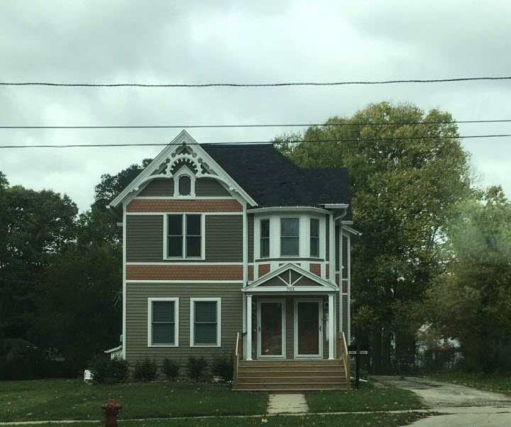 Queen Anne painted lady style home