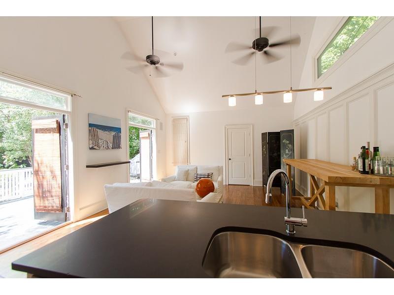 Guest house of Atlanta Georgia home for sale 276 9th St Atlanta Georgia