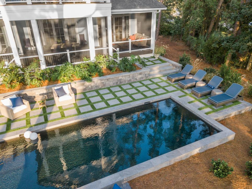View of pool 2020 HGTV Dream Home