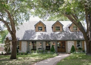 HGTV Fixer Upper Brick House in Waco Texas