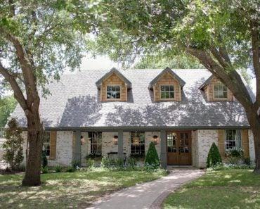 HGTV Fixer Upper Brick House in Waco Texas
