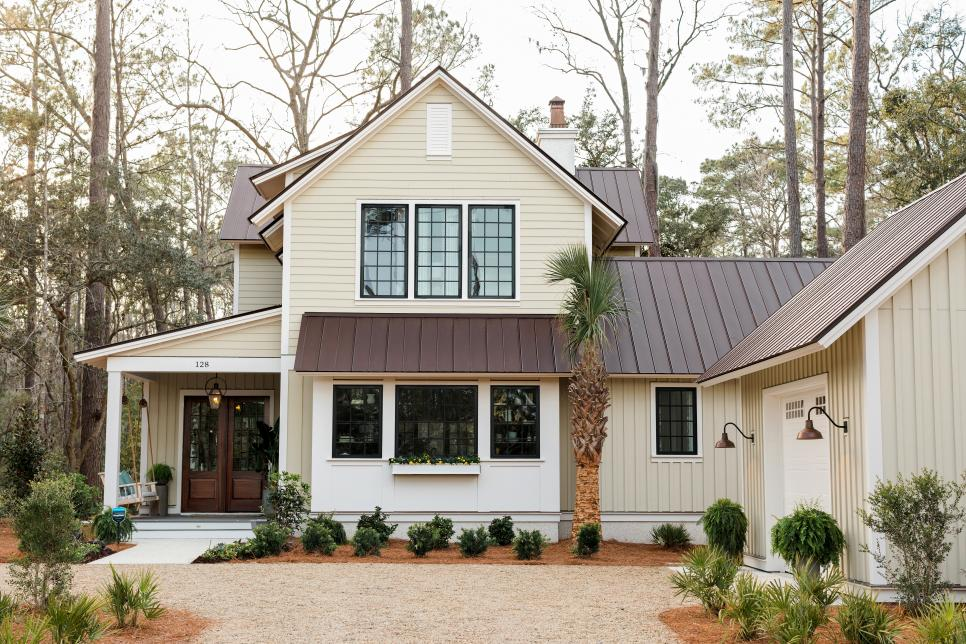HGTV Smart Home 2018 - HGTV Smart House 2018 - The smart house has a long-lasting metal roof
