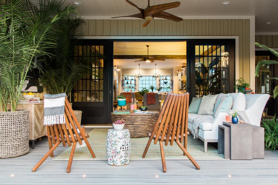 HGTV Smart Home 2018 screened in porch