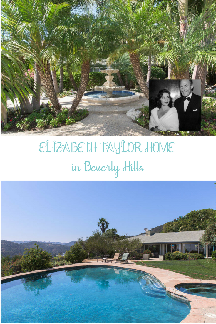 Historic 1950s Former Elizabeth Taylor Home on the market for the first time in decades!