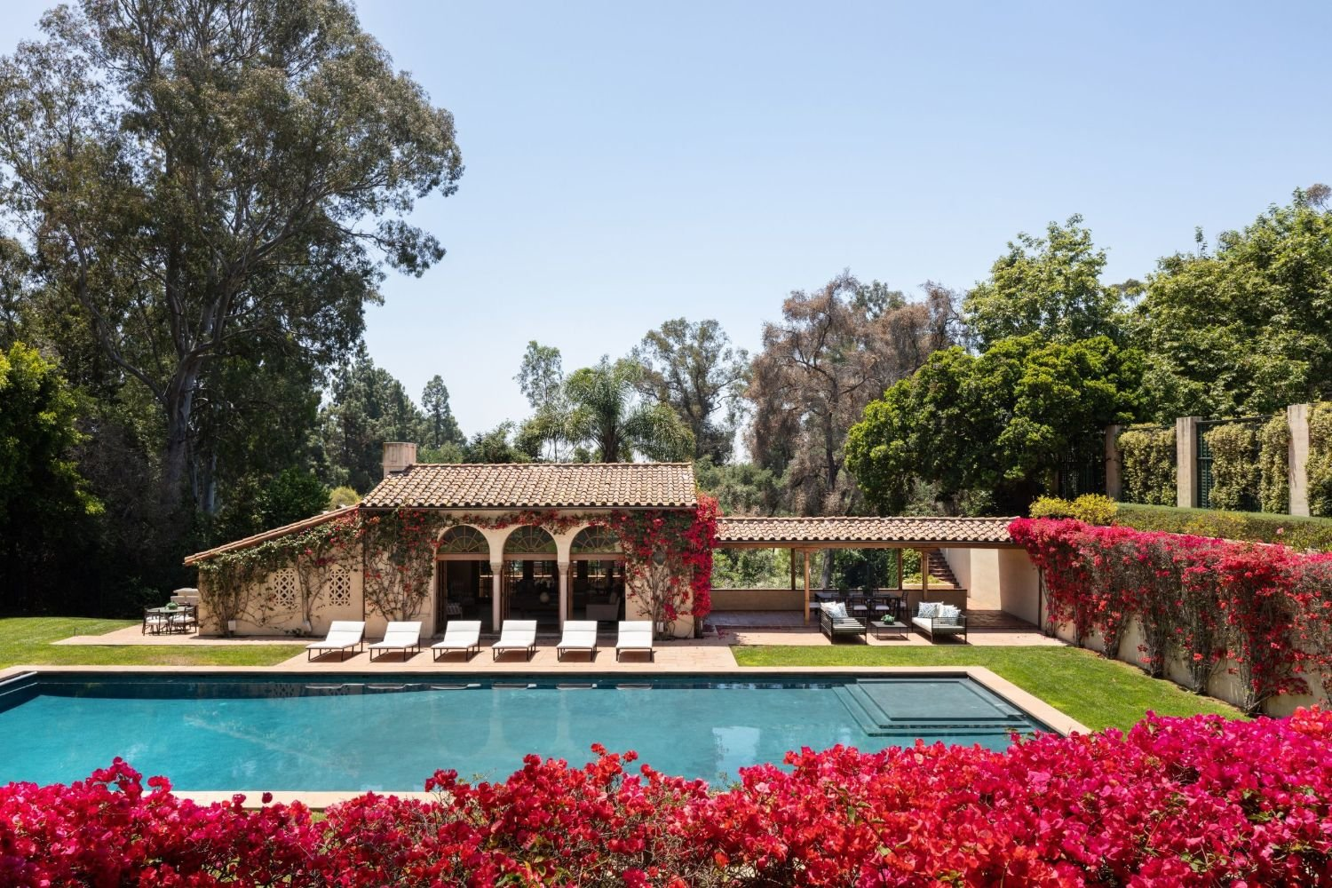 Historic Owlwood Mansion in LA where Sonny & Cher, Tony Curtis, and Marilyn Monroe used to live - Sold