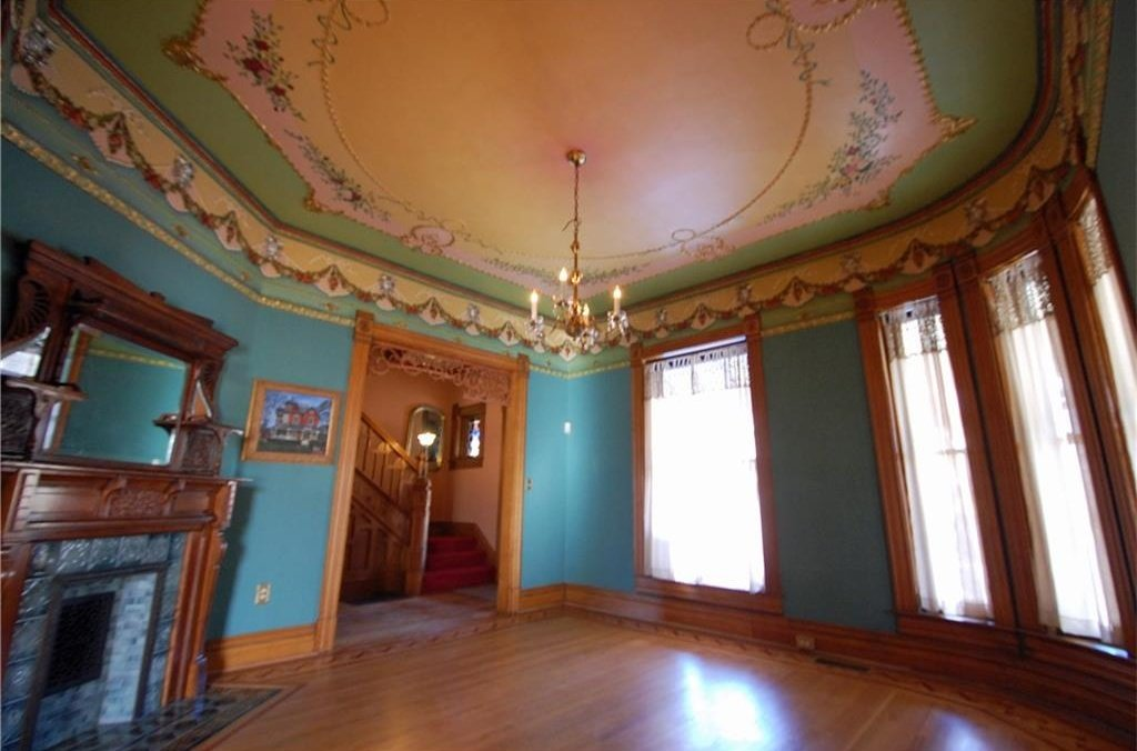 Historic Victorian for sale in Indianapolis with colorful front porch - 1226 Broadway St Indianapolis Indiana 5