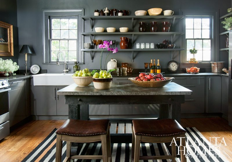 Kitchen is Ikea by Designer/Home Furnishings owner Jimmy Stanton