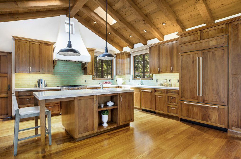 See the kitchen of Jeff Bridges Montecito Home on the market