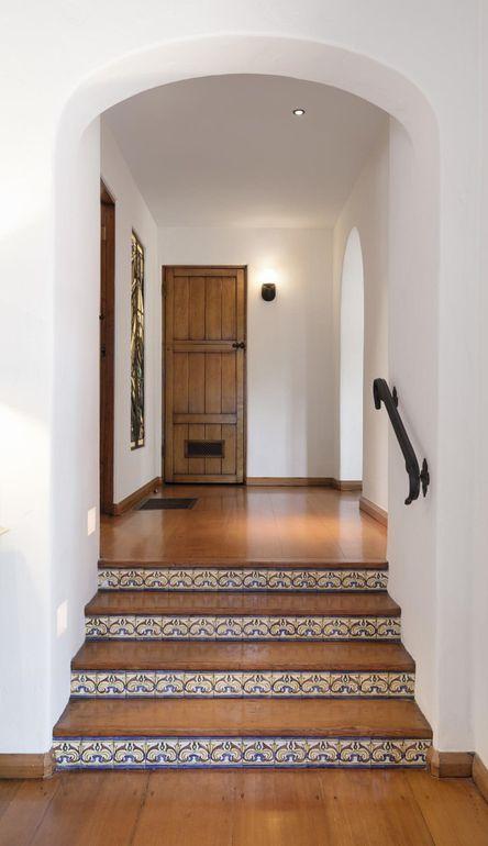 Jeff Bridges Spanish-style home for sale- Stairway